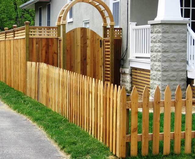 Gothic Picket Fence 1 Baltimore By Mid Atlantic Deck