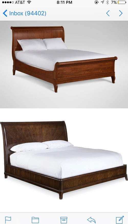 Which bed? Ethan Allen or Thomasville?
