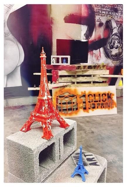 3D Printed Eiffel Tower   Living Room Showpiece Modern