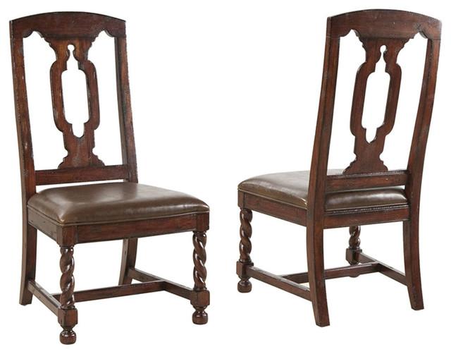 Shop Houzz Hekman Furniture Havana Side Chair