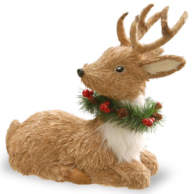 """Resting Reindeer, 13""""."""