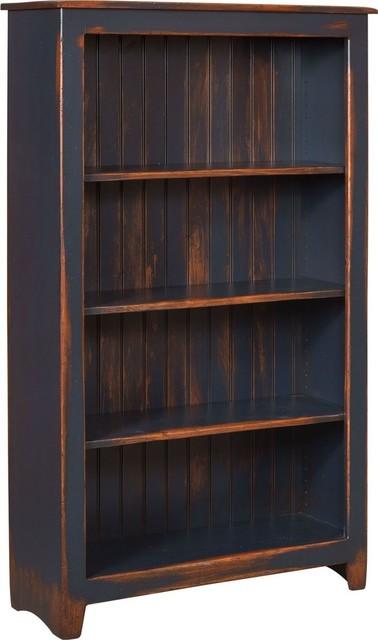 Cornelia Bookcase Distress Antique - Farmhouse - Bookcases - by HedgeApple