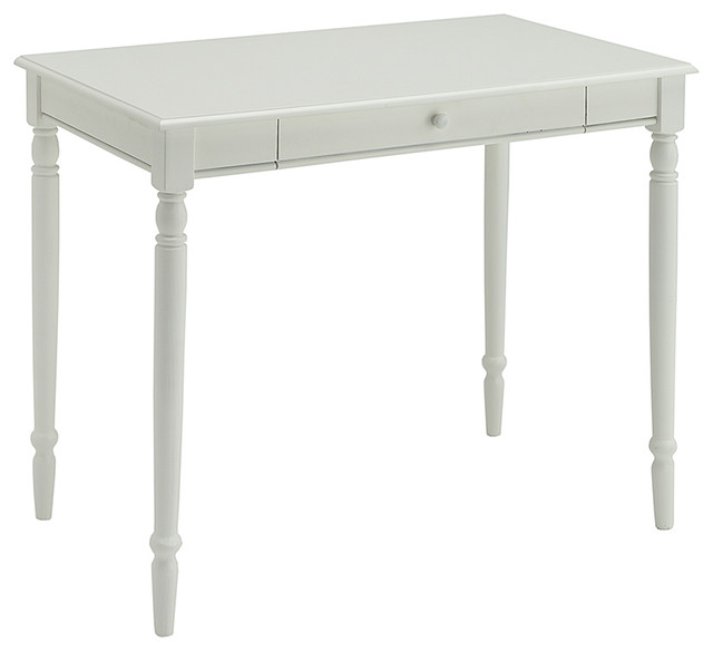 French Country Desk, White.