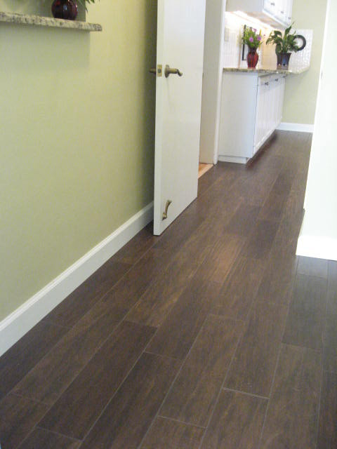 Porcelain Plank Wood Look Tile Installations Tampa Florida Tampa By Ceramictec