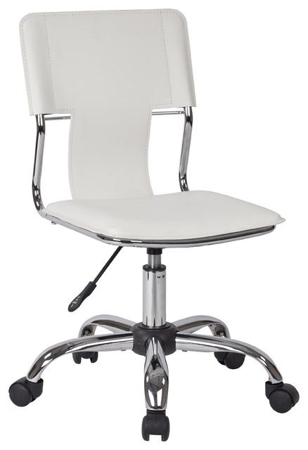 Carina Task Chair, White.