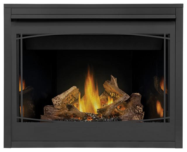 Napoleon B42 Ascent Mv Fireplace, Porcelain Panels, Zen Front, Natural Gas.