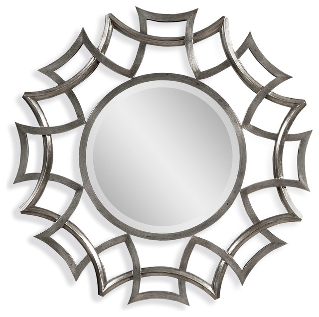 Good Transitional Wall Mirrors by BASSETT MIRROR CO
