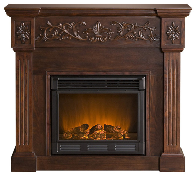 holly   martin huntington electric fireplace traditional