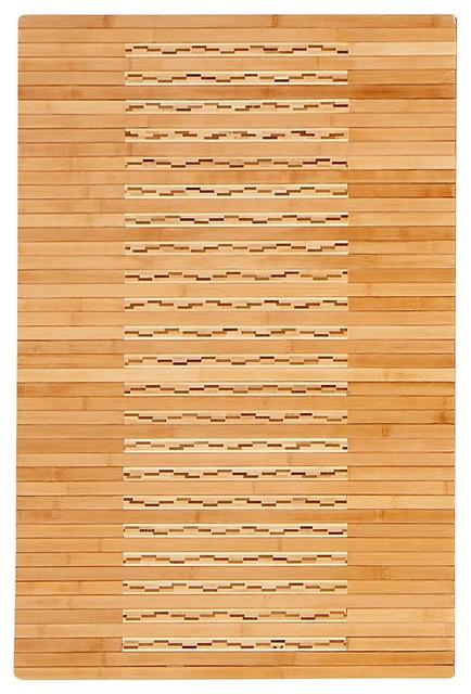 24x36 Bamboo Kitchen And Bath Mat.