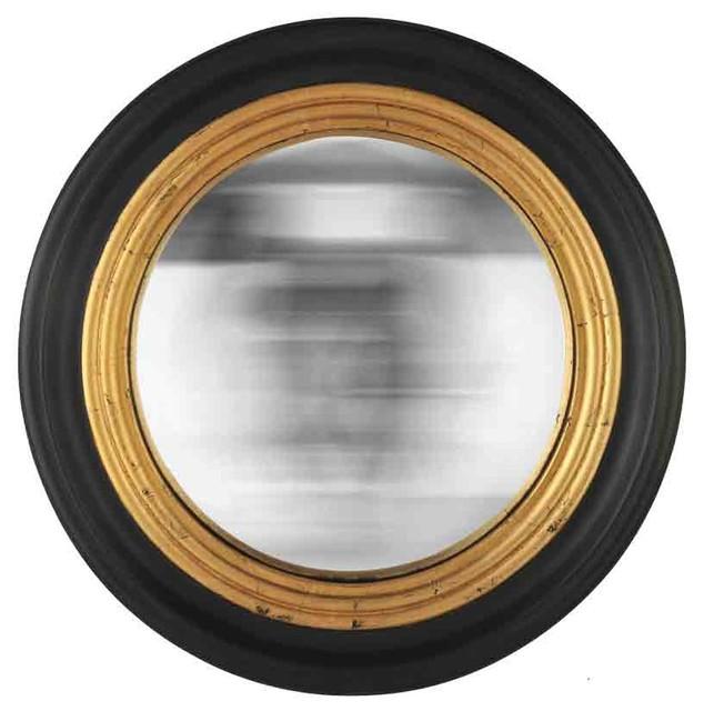 Convex Wall Mirror emde round convex mirror - traditional - wall mirrors -emde