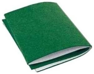 """6""""x18"""" Green Felt Blanket."""
