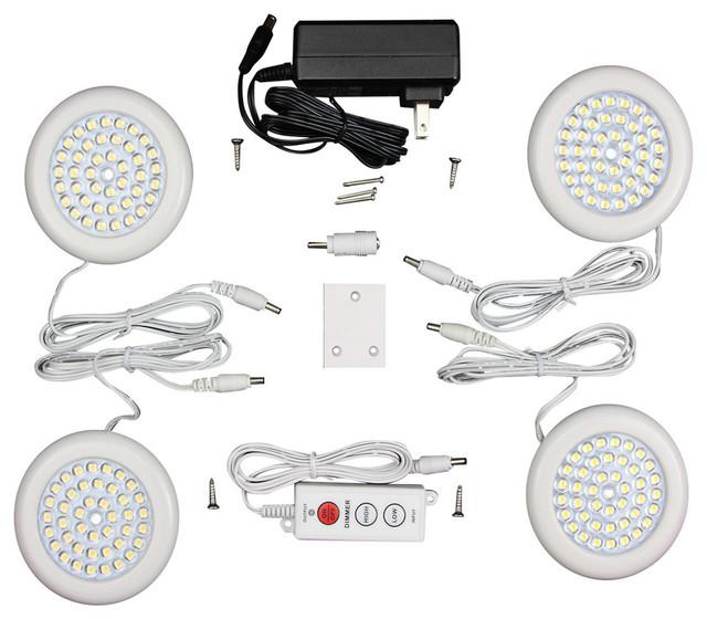 Solid Apollo - Premium LED Puck Light White Body Kit ...