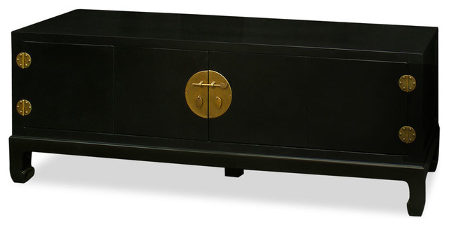 Elmwood Kang Media Cabinet, Black Matte.