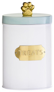Amici Pet Bentley White Mint Gold Canisters, Medium Treats