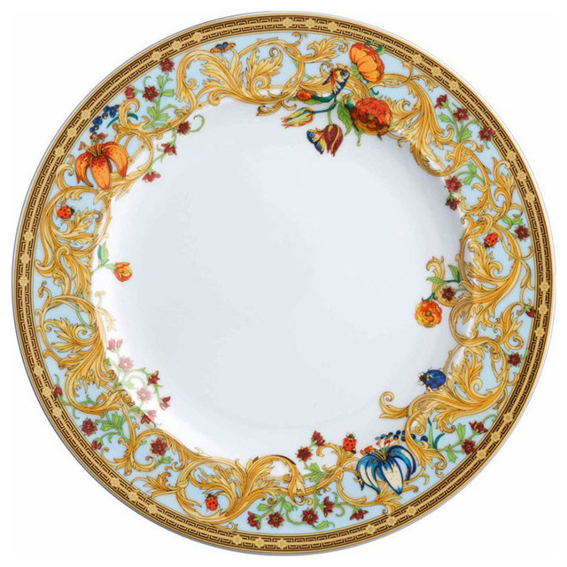 Versace Le Jardin Dinner Plate