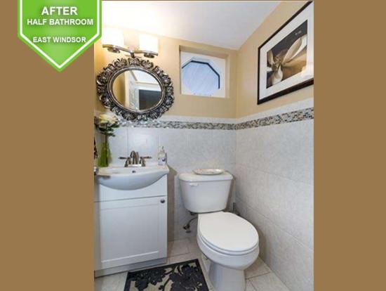 East Windsor After Half Bathroom