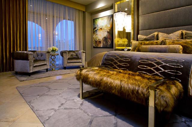 Luxury Master Bedroom Contemporary Bedroom Phoenix By Fine Art Interiors