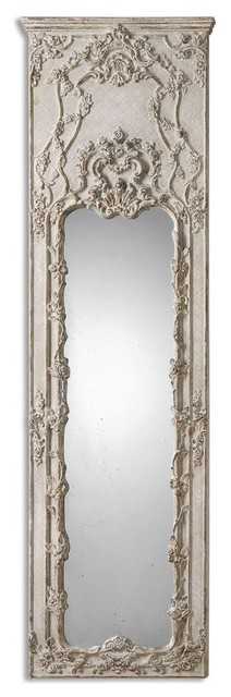 Tall Victorian Ornate Ivory Mirror - Victorian - Floor Mirrors - by ...