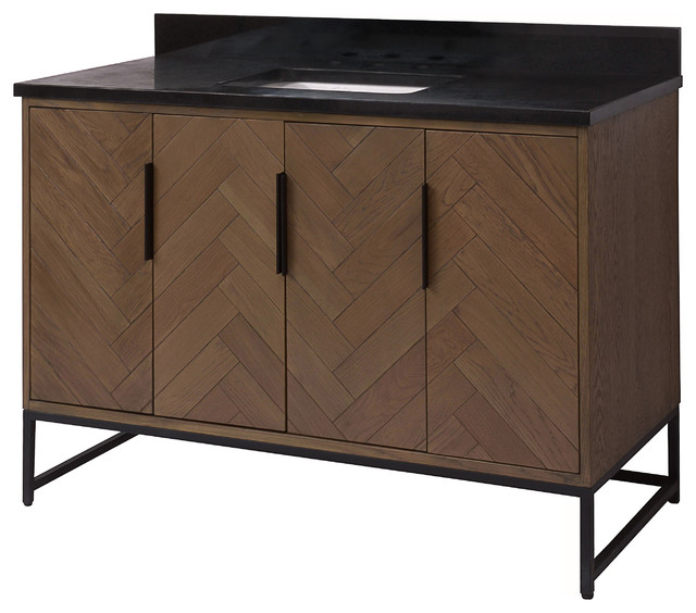 Quinn 48 Vanity Industrial Bathroom Vanities And Sink Consoles By Sagehill Designs