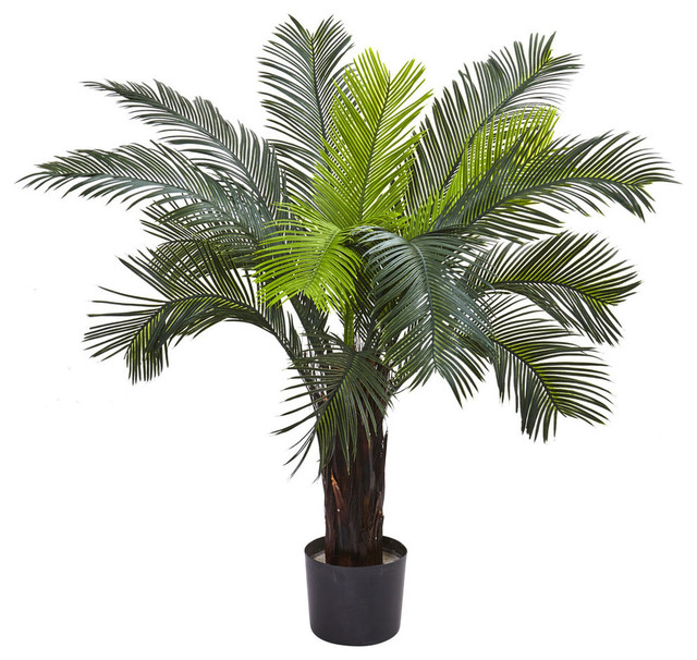 3u0027 Cycas Tree UV Resistant, Indoor/Outdoor Tropical Artificial Plants