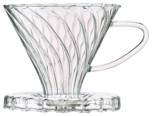 5b33cdf09d4 Harold Import Co. 6 Cup Borosilicate Glass Pour Over Cone Coffee Maker -  Contemporary - Coffee Filters - by JENSEN-BYRD CO INC