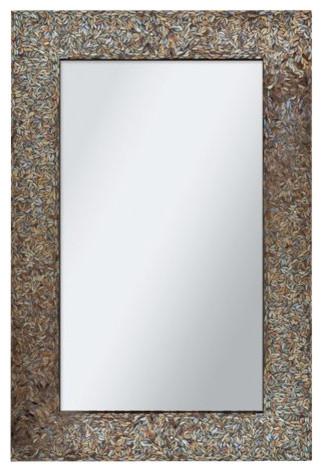 Amber Mosaic Mirror.
