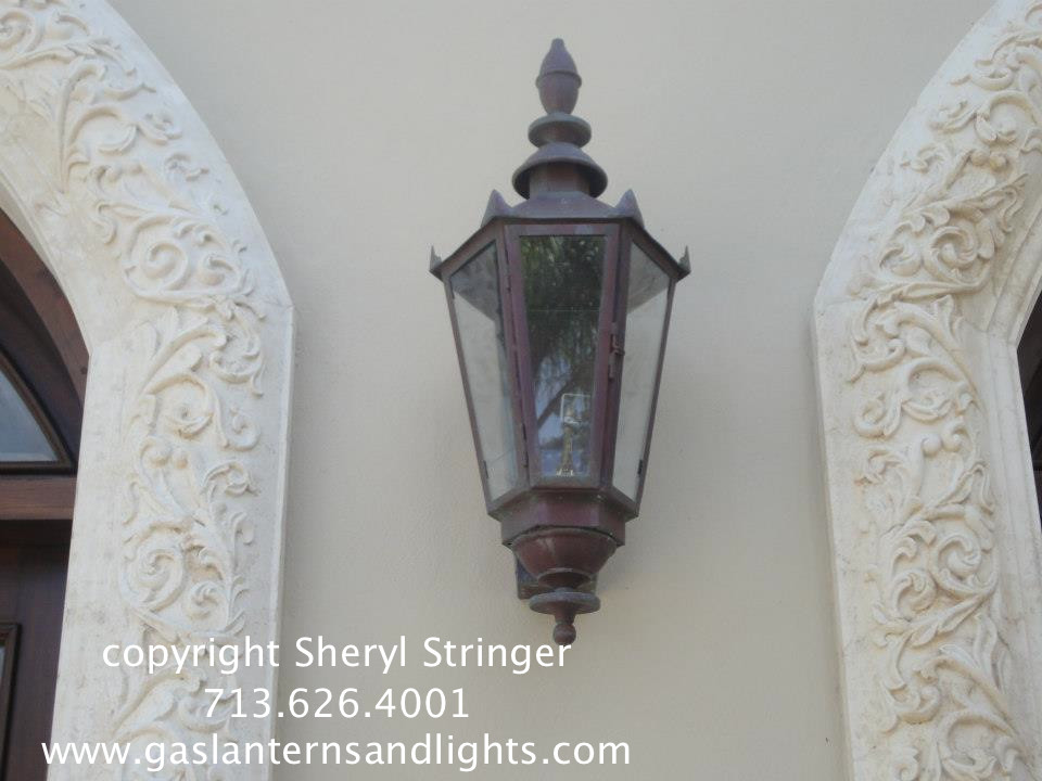 Electric and Gas Lanterns by Sheryl Stringer, gaslanternsandlights.com