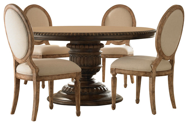 lilian dining table and chairs 5 piece set traditional dining sets - Traditional Dining Table And Chairs