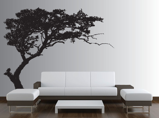 large wall tree decal forest decor vinyl sticker nursery canopy