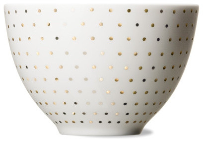 Skål Bowl Gold Dot