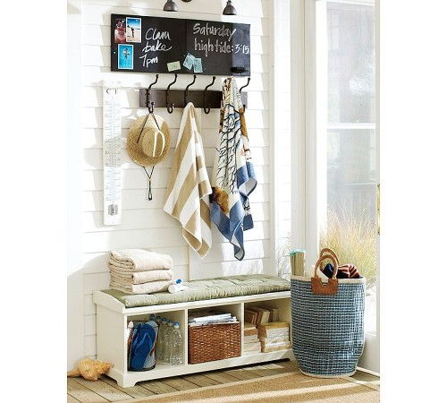 Pottery Barn eclectic entry