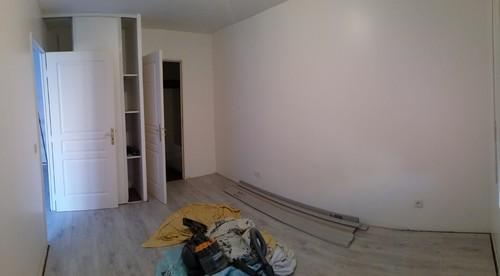 Couleur murs - Couleur mur avec carrelage gris clair ...