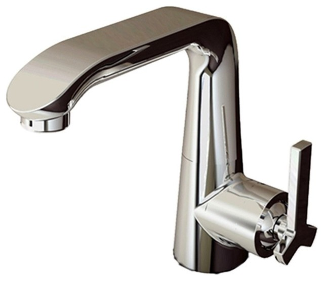 Bravat Chrome Faucet Contemporary Design