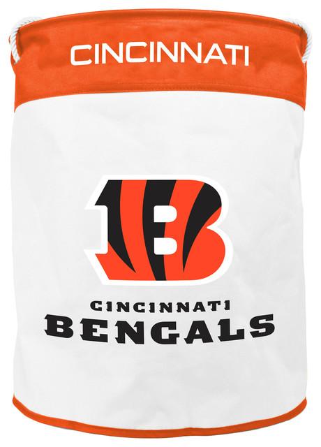 Cincinnati Bengals Canvas Laundry Bag.