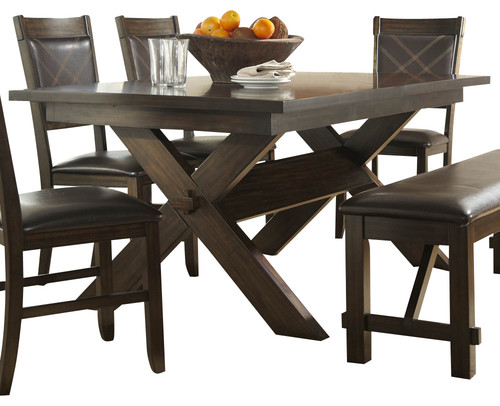 Do you have depth length of 60 and different color for Traditional dining table for 8