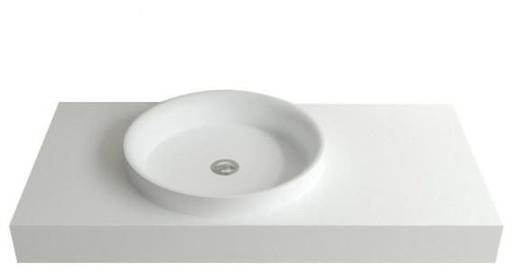 Stone Resin Sink : Badeloft Stone Resin Wall-mounted Sink - Modern - Bathroom Sinks - by ...