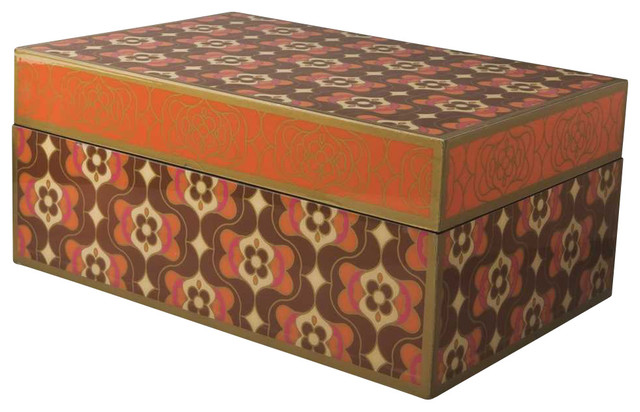 Unique Rectangular Box by Piling Palang - Eclectic - Jewelry Boxes ...