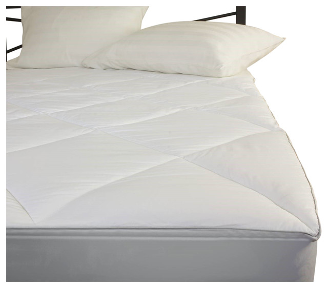 Brookstone Temperature Regulating Mattress Pad With Outlast