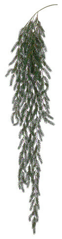 Silk Plants Direct Pine Hanging Garland, Pack Of 6.