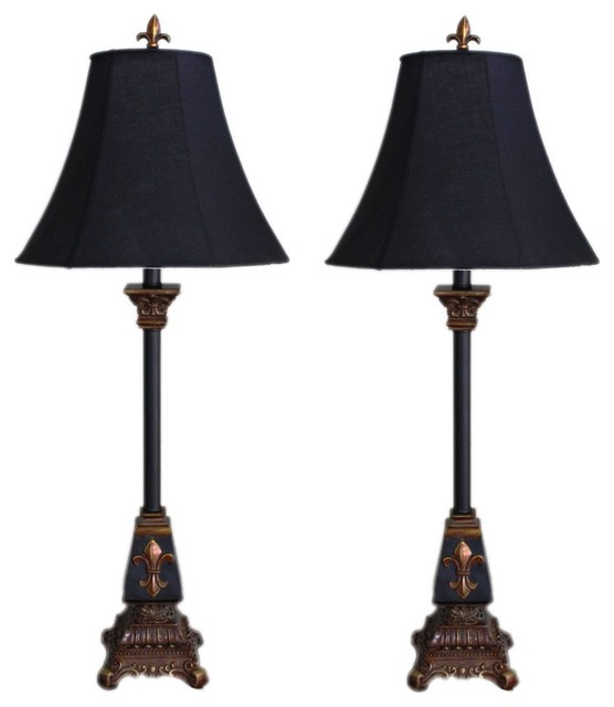 Marlayne fleur de lis table lamps set of 2 traditional lamp marlayne fleur de lis table lamps set of 2 aloadofball Choice Image