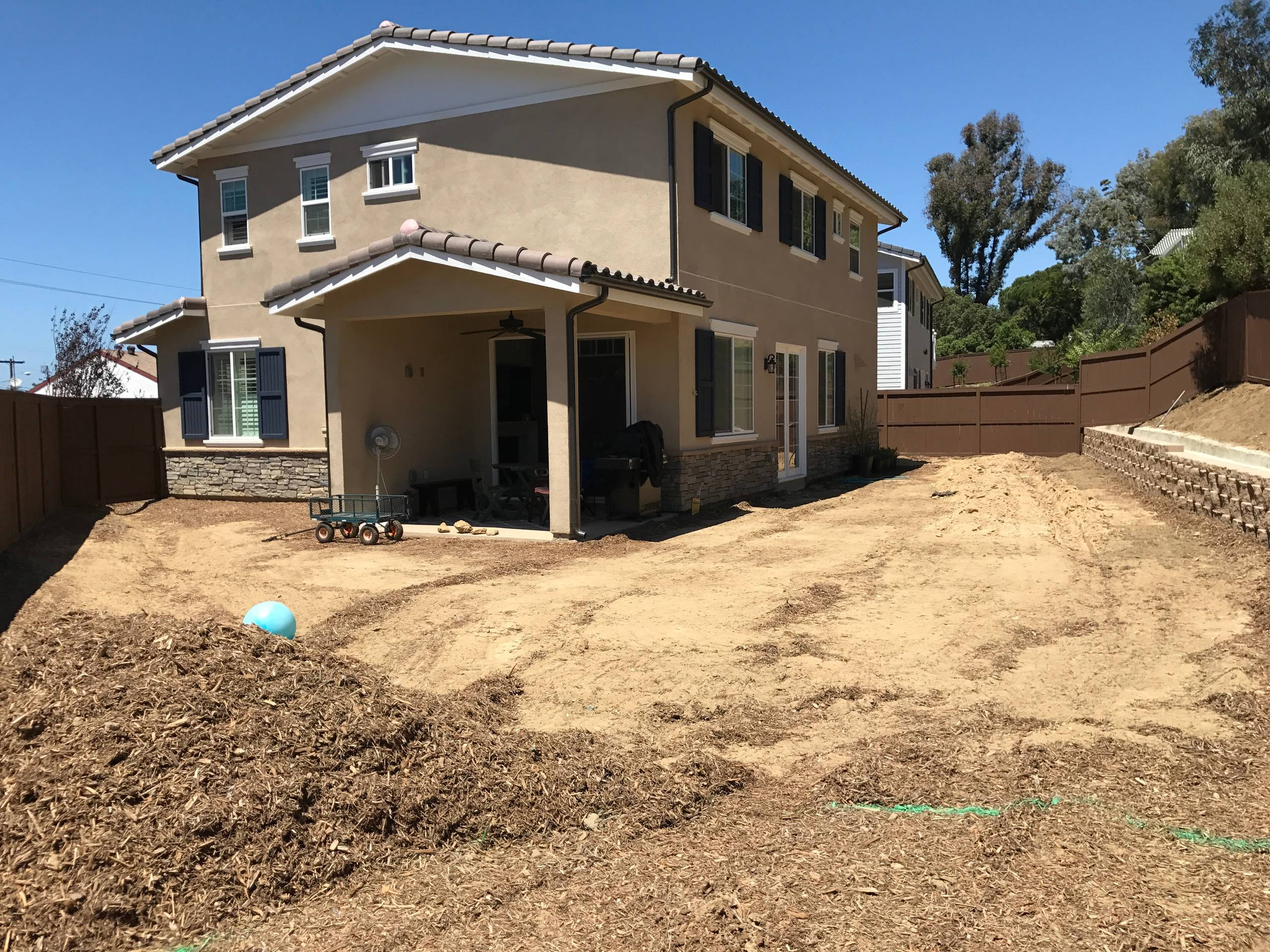 Prepping the Soil for Lawn and Plants