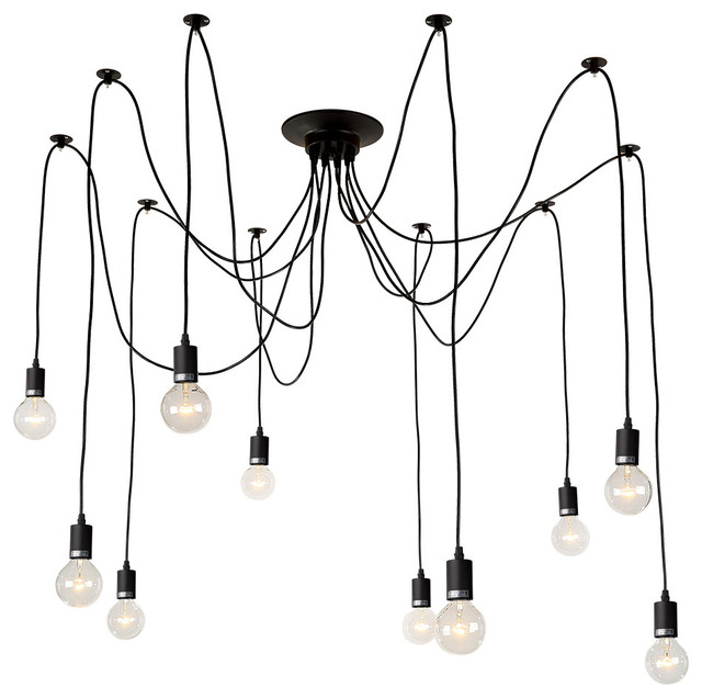 Currey And Company Balthazar: Artistic 10-Light Chandelier Pendant