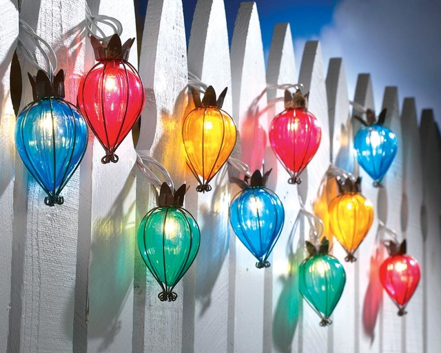 Teardrop Outdoor String Lights