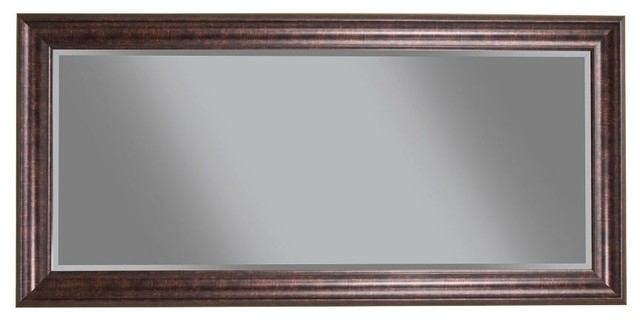Full Length Leaner Mirror, Oil Rubbed Bronze.