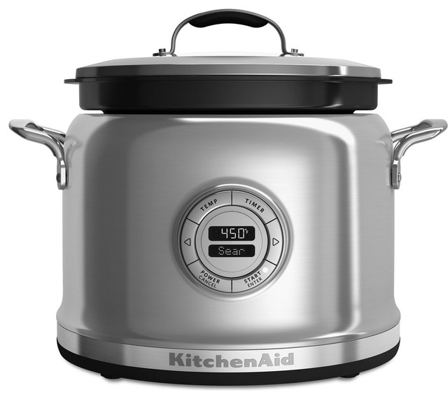 Multi-Cooker, Stainless Steel.