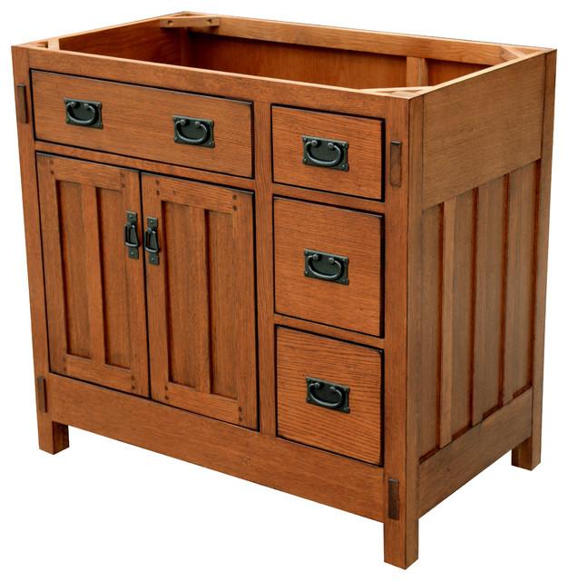 American Craftsmen Vanity 36 Craftsman Bathroom Vanities And Sink Consoles By Sagehill Designs Houzz