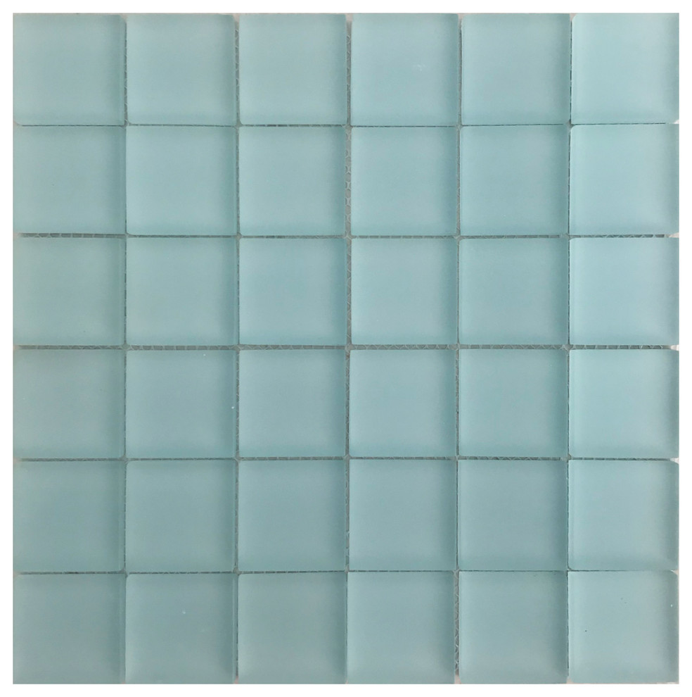 - 2x2 Glass Mosaic Tile - Contemporary - Wall And Floor Tile - By