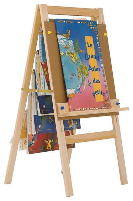 Steffywood Kids Learning Book Holder Storage Easel