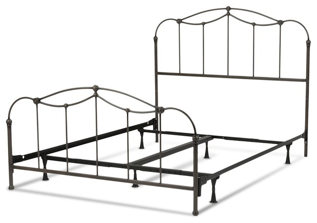 Fbg Affinity Complete Bed, Blackened Taupe, Cal King, B11277.