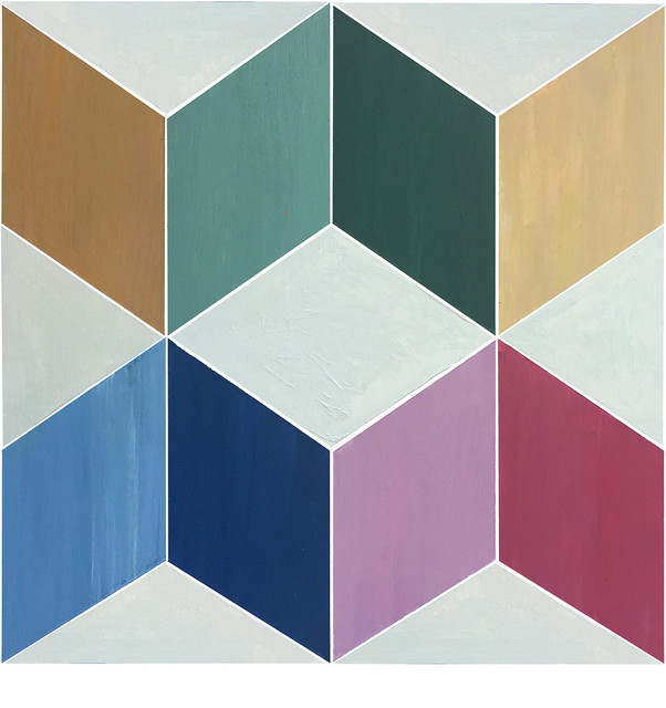 12 X12 Flooradorn Squared Color Tiles Set Of 24 Contemporary Vinyl Flooring By Julie S Floor Adorn